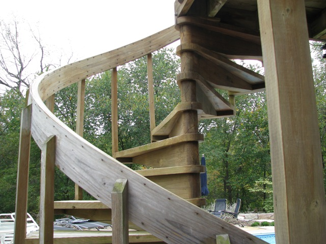 build spiral staircase for pinterest