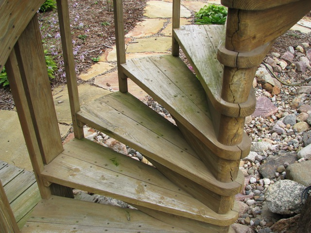 Outdoor Spiral Stairs By Judd Lumberjocks Com